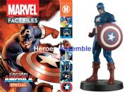 Marvel Fact Files Captain America Special With Figurine Eaglemoss